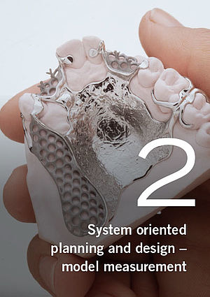 Partial dentures – System oriented planning and design model measurement, Part 2