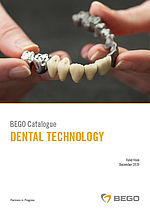BEGO Catalogue – Dental technology