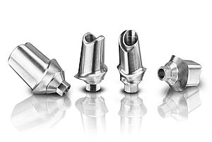 From now on, Wirobond® MI+ CADAbut Full abutments made of cobalt-chromium for the supply of Semados® SC/SCX/RS/RSX/RI implants are available from BEGO.
