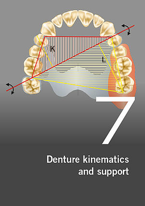 Partial dentures – Denture kinematics and support, Part 7