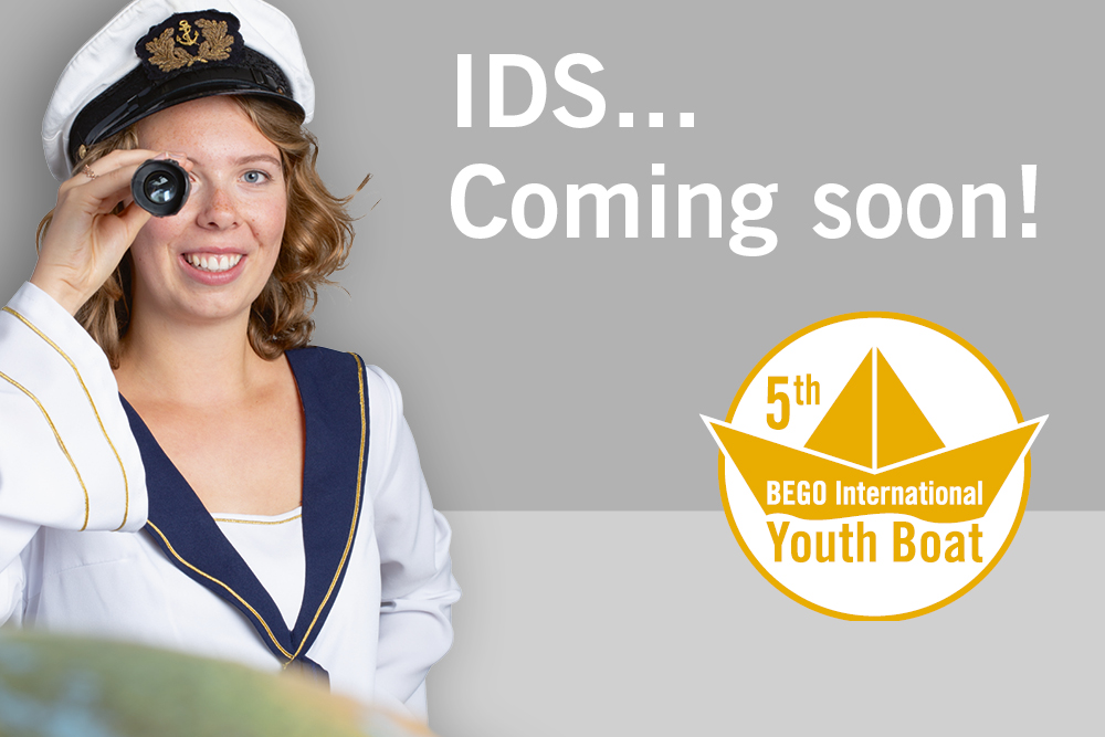 Full speed ahead! Starting immediately, interested young people can sign up for the BEGO International Youth Boat 2019.