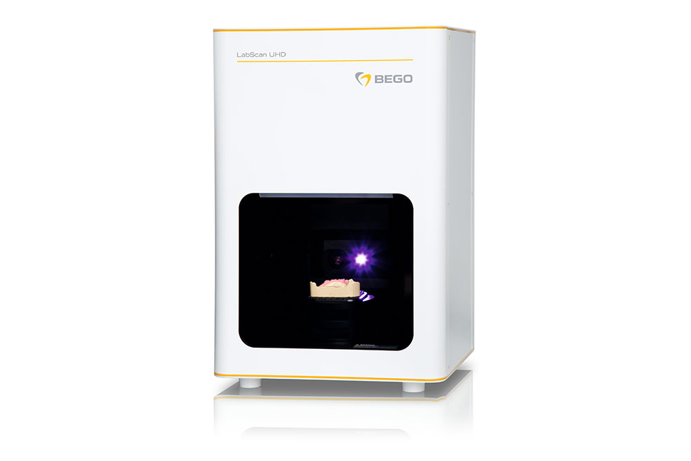 The new BEGO LabScan UHD with an accuracy of < 5  μm