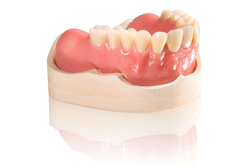 In addition to existing indications new resins will be offered such as VarseoWax Base for 3D printing of full denture bases.