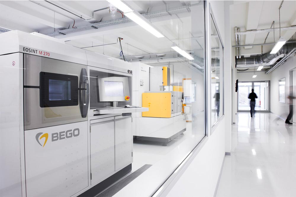 As a pioneer and patent holder of the SLM (Selective Laser Melting) procedure in the dental industry, BEGO offers market-leading processing competence in CAD/CAM technology at its high-tech production center in Bremen.
