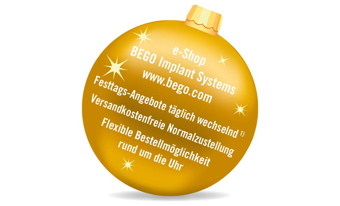 BEGO Implant Systems – Adventsaktion 2019